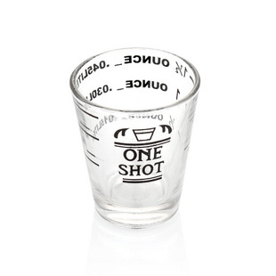 Shot glass 15/30/45 ml z podziałką